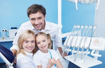 Family dentist visit